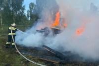В МЧС назвали основную версию пожара в храме в деревне Рытово