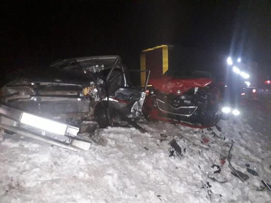 На александровской трассе в ДТП пострадали трое детей