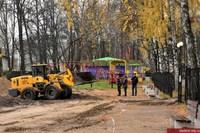 Мэрия Владимира анонсировала установку новой детской площадки в Центральном парке