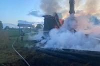 В деревне Рытово Вязниковского района сгорел старообрядческий храм