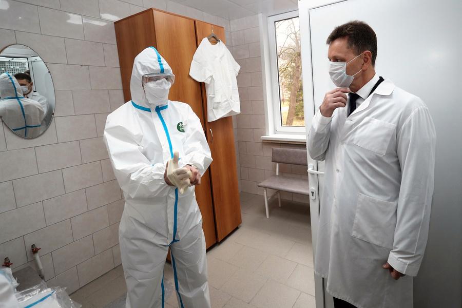50 тысяч рублей получат владимирские медики в случае заражения Covid -19